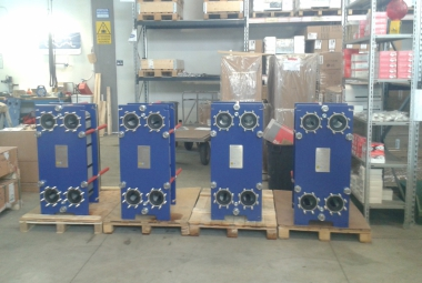 Heat exchangers ALFA LAVAL PHE gaskets